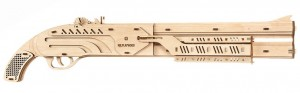 фото Механический конструктор из дерева Mr.Playwood 'Ружье' (10005) #5