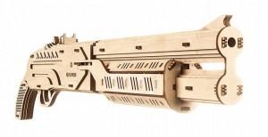 фото Механический конструктор из дерева Mr.Playwood 'Ружье' (10005) #4