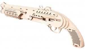 фото Механический конструктор из дерева Mr.Playwood 'Ружье' (10005) #3