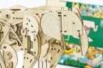 фото Механический конструктор из дерева Mr.Playwood 'Слон' (10004) #6