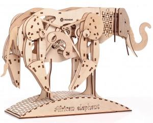 фото Механический конструктор из дерева Mr.Playwood 'Слон' (10004) #4