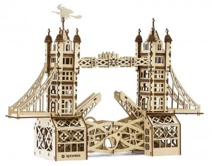 фото Механический конструктор из дерева Mr.Playwood 'Тауэрский мост' (10002) #2