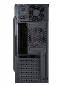 фото Корпус Frontier Jumbo Middletower c БП 400W ATX/mATX черный/красный (JUMBO–02B2–400 BK-RD) #3