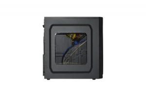 фото Корпус Frontier Yoda Miditower 500W ATX/mATX черный (F56A-500) #4
