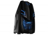 Корпус RAIDMAX VIPER GXII 522WBU Miditower без БП, черный/синий (VIPER GXII 522WBU)