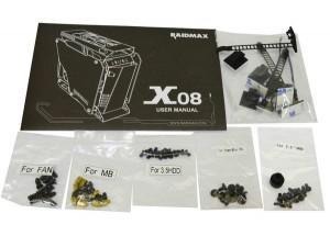 фото Корпус RAIDMAX X08 Middletower без БП (X08) #3