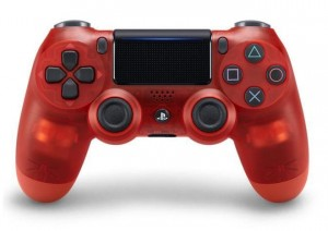 Игровой контролер Sony Dualshock 4 Crystal Red version 2
