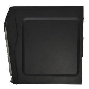 фото Корпус Frontier Jumbo Middletower c БП 400W ATX/mATX черный/синий (JUMBO–02B2–400 BK-BU) #4