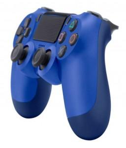 фото Игровой контролер Sony Dualshock 4 Crystal Blue version 2 #2