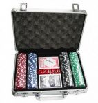 Покерный набор Johnshen Sports 200 фишек по 11.5 г (алюминиевый кейс)