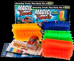 Гоночная трасса 'Magic Tracks' 440 деталей + 2 машинки