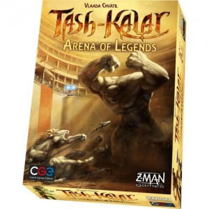 Настольная игра Czech Games Edition 'Таш-Калар: Арена Легенд (Tash-Kalar: Arena of Legends) (с рус. правилами)' (CGE00023)