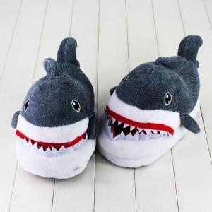 Плюшевые тапочки 'Акула' (top-198)