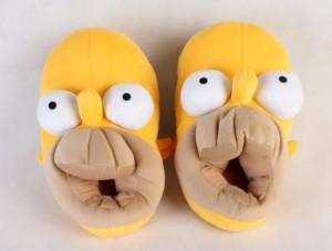 Плюшевые тапочки 'Гомер Симпсон' (top-253)