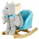 Детское кресло - качалка Rock My Baby 'Слоник' 3 в 1 (0208500025039)