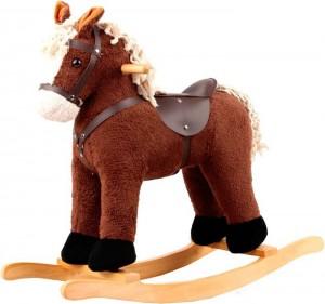 Игрушечный конь - качалка Rock My Baby с музыкой (JR6017)