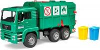 Мусоровоз Bruder 'MAN TGA' зеленый М1:16 (02753)