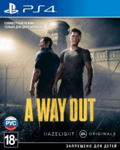 игра A Way Out PS4 - Русская версия