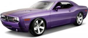 Автомодель Maisto '2006 Dodge Challenger Concept' 1:18 фиолетовый (36138 met. purple)