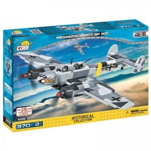 Конструктор COBI 'Вторая Мировая Война Самолет Мессершмитт BF-110' 370 деталей (COBI-5538)