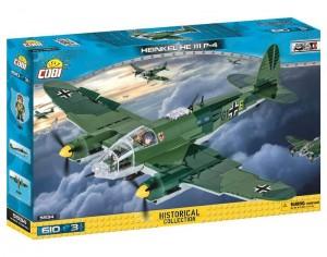 Конструктор COBI 'Вторая Мировая Война Самолет Хейнкель HE-111' 610 деталей (COBI-5534)