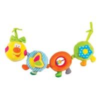 Игрушка-подвеска Happy Snail 'Веселая гусеничка Камилла' (14HS003PG)
