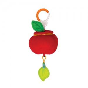 Игрушка-подвеска Happy Snail 'Кто в яблоке живет' (17HS02PA)