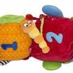 фото Развивающая игрушка Happy Snail 'Гусеница Мари' (14HS09IG) #4