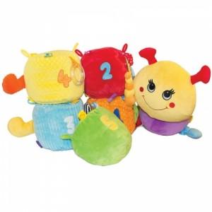фото Развивающая игрушка Happy Snail 'Гусеница Мари' (14HS09IG) #2