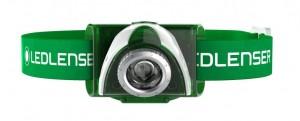 Фонарь налобный LedLenser SEO 3 Green (6003)
