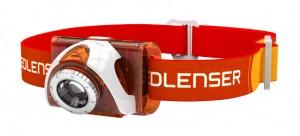 Фонарь налобный LedLenser SEO 3 Orange (6004)