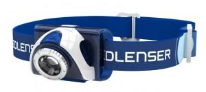 Фонарь налобный заряжаемый LedLenser SEO 7 Blue (6007R)