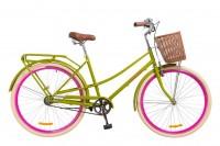 Велосипед 28'' Dorozhnik COMFORT FEMALE 14G рама-19,5'' St салатный (OPS-D-28-100)