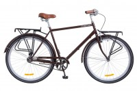 Велосипед 28'' Dorozhnik COMFORT MALE 14G рама-22'' St коричневый (OPS-D-28-099)