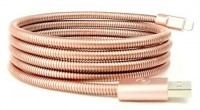 Kабель FuseChicken USB Cable to Lightning Titan 1,5m Rose Gold (IDSR15)