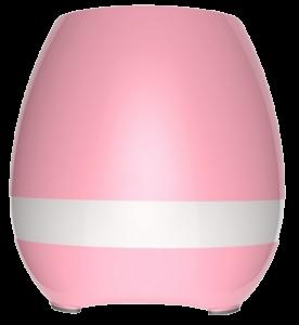 Подарок Bluetooth колонка-ночник 'Цветочный горшок', розовая