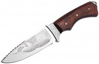 Нож охотничий Grand Way 'Крокодил' (99128)