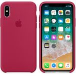 фото Чехол Apple iPhone X Silicone Case Rose Red (MQT82) #4