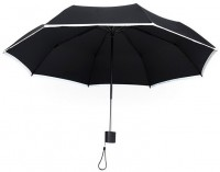 Зонт Pinluo Black PLSKS08XM со светоотражателем (01704)