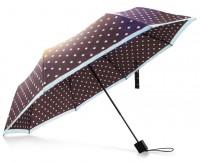 Зонт Pinluo коричневый в крапинку PLSKS09XM (01712)