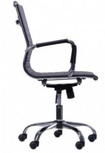фото Кресло Slim LB (XH-632B) черный (512062) #2