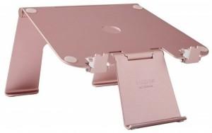 Подарок Подставка для ноутбука DiiZiGN FA-005 N Rose Gold (00624)