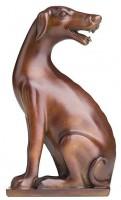 Подарок Статуэтка Tongshifu Dog Statue Brown (01894)