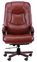 Кресло Ванкувер, кожа коричневая (625-B+PVC) (038673)