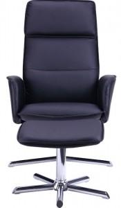 Кресло-реклайнер Sagano PU черный (515416)