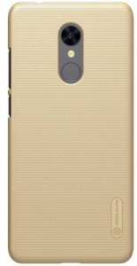 Чехол бампер Nillkin Xiaomi RedMi 5 Super Frosted Shield Gold (00954)