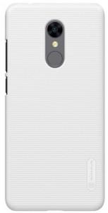 Чехол бампер  Nillkin Xiaomi RedMi 5 Super Frosted Shield White (00956)