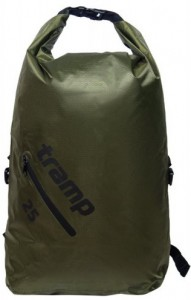 Герморюкзак Tramp Diamond Rip-Stop 25 л оливковый (TRA-256-olive)