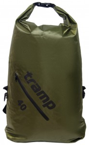 Герморюкзак Tramp Diamond Rip-Stop 40 л Оливковый (TRA-257-olive)