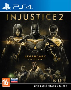 игра Injustice 2. Legendary Edition PS4 - Русская версия
